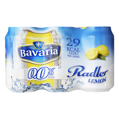 Bavaria Radler 0.0% lemon