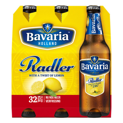 Bavaria Radler lemon 2.0% citroen