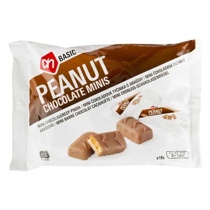 Budget Huismerk Pinda chocolade mini's