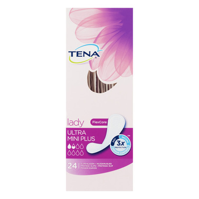 Tena Lady ultra mini plus inlegkruisjes