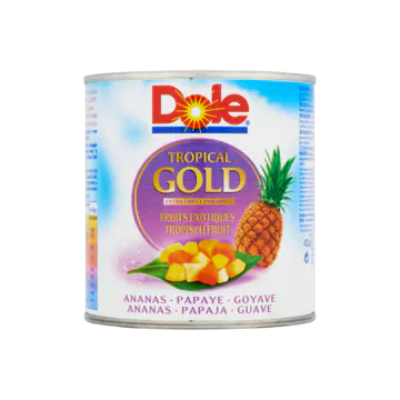 Dole Tropical Gold Tropisch Fruit Ananas Papaja Guave