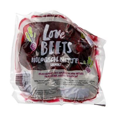 Love Beets Rode bieten biologisch