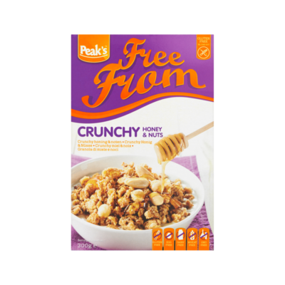 Peak's Free From Crunchy Honing & Noten