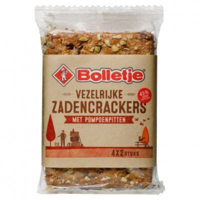 Bolletje Zadencrackers pompoenpitten