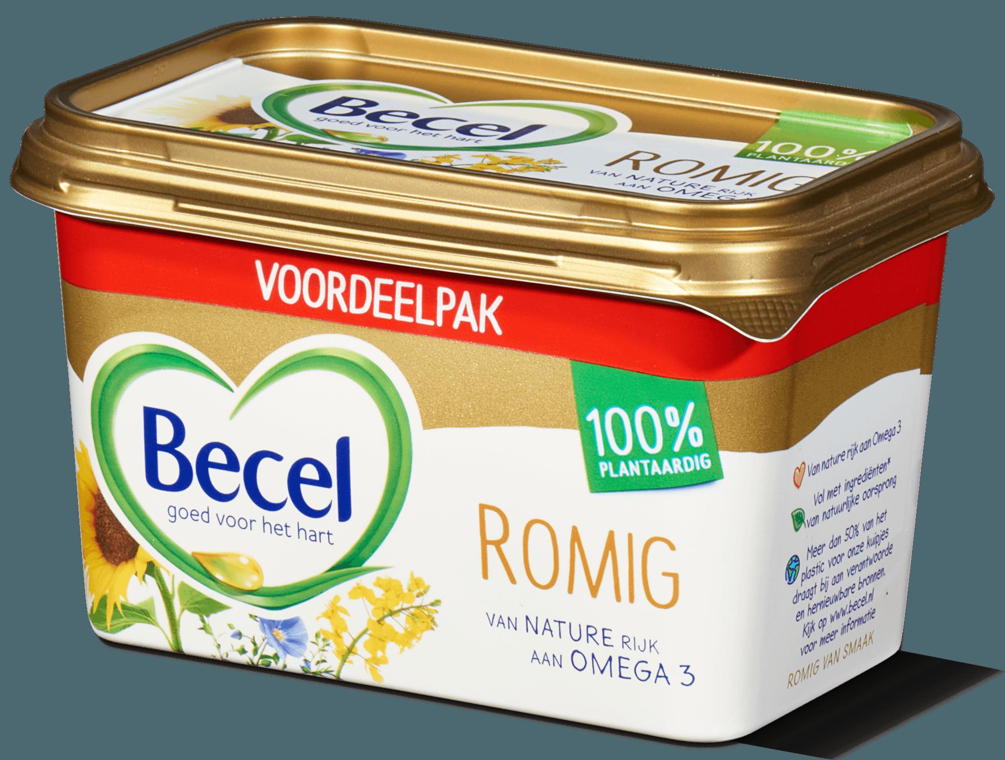 Becel margarine romig