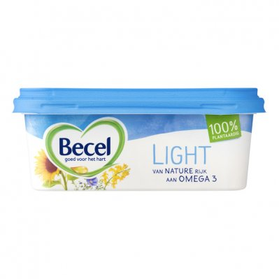 Becel Light voor op brood