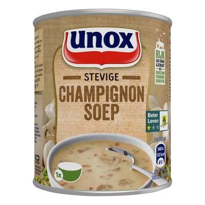 Unox Soep in blik stevige champignonsoep