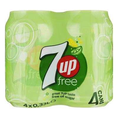 7-Up Free blikjes 4-pack