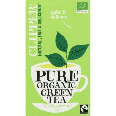 Clipper Organic green tea 1-kops