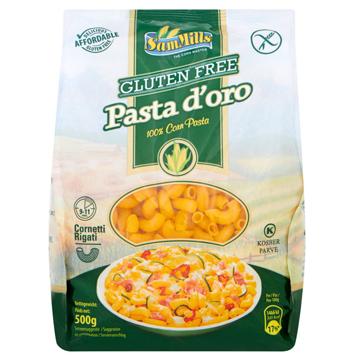 SamMills Pasta d'oro corn glutenvrij