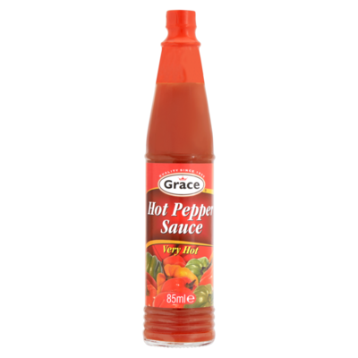 Grace Hot Pepper Sauce Very Hot