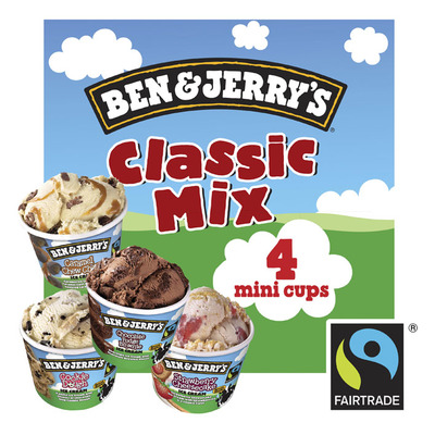 Ben & Jerry's IJs classic mini cool-lections