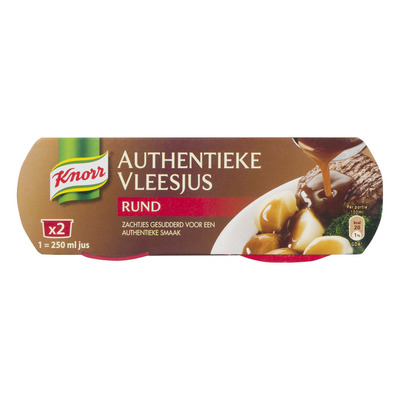 Knorr Mix authentieke rundvleesjus