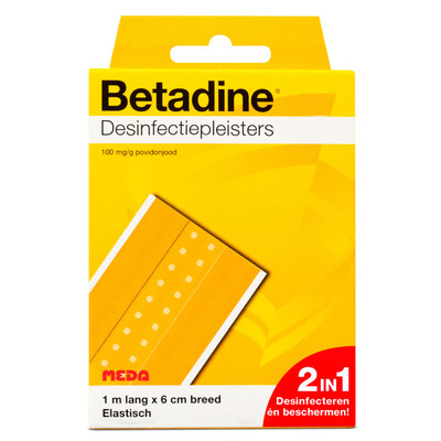 Betadine Desinfectiepleister 1m x 6cm