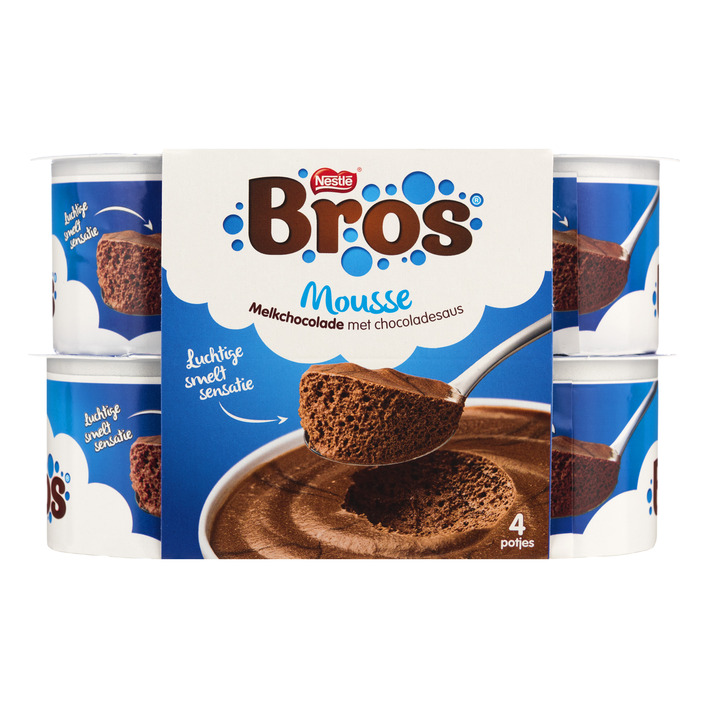 Nestlé Melkchocolade mousse