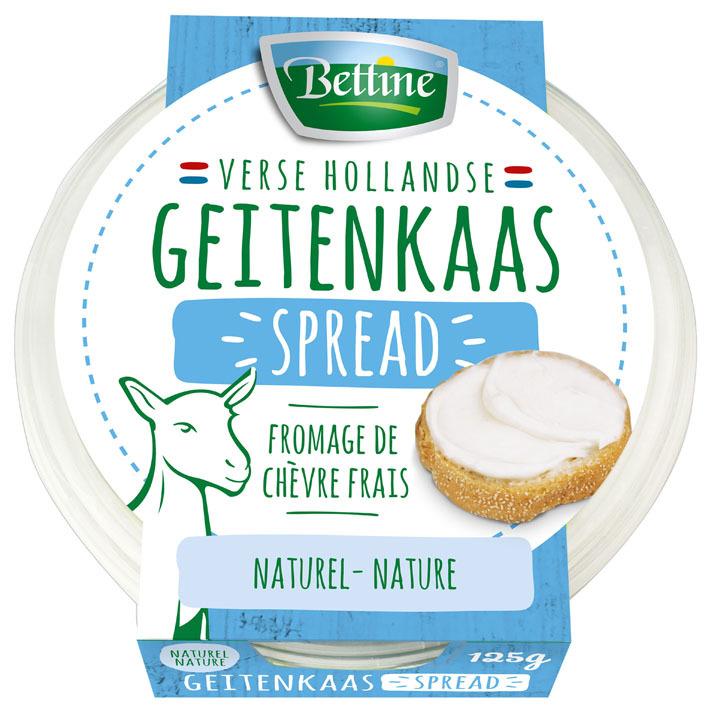 Bettine Geitenkaas spread naturel