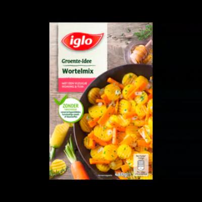 Iglo Groente-Idee Wortelmix met een Vleugje Honing & Tijm