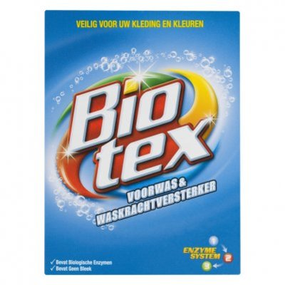 Biotex Wasmiddel waskrachtversterker waspoeder