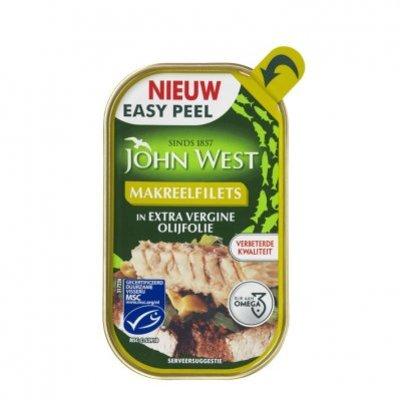 John West Makreel in extra vergine olijfolie