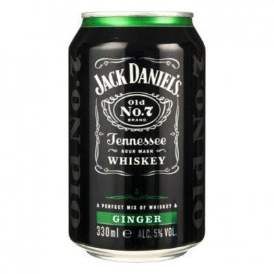 Jack Daniels Whiskey ginger