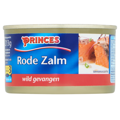 Princes Zalm rood