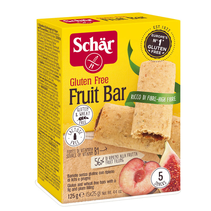 Schär Fruitbar gluten- & lactosevrij