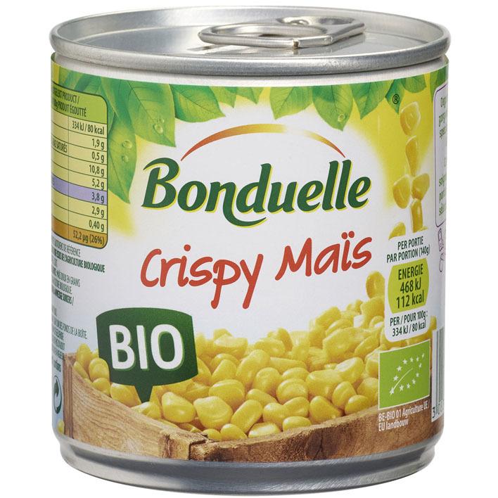 Bonduelle Crispy maïs bio