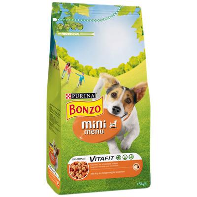 Bonzo Mini menu kip- groente