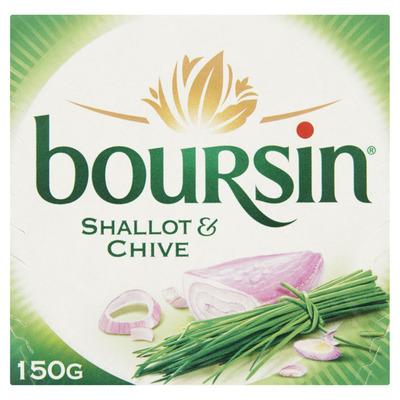 Boursin Sjalot & bieslook
