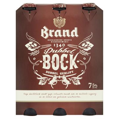 Brand Dubbelbock Bier Fles 6 x 30 cl