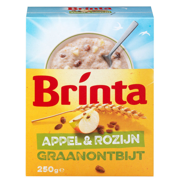 Brinta Graanontbijt appel-rozijn