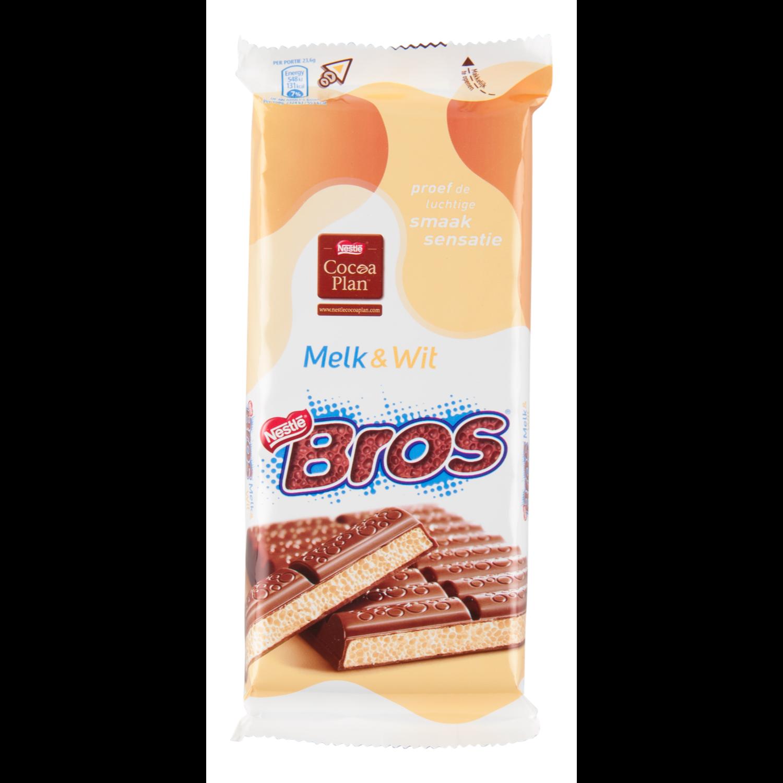 Nestlé Bros tablet melk en wit