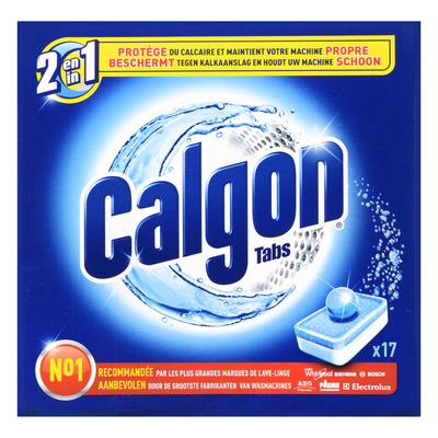 Calgon 2 in 1 tabs