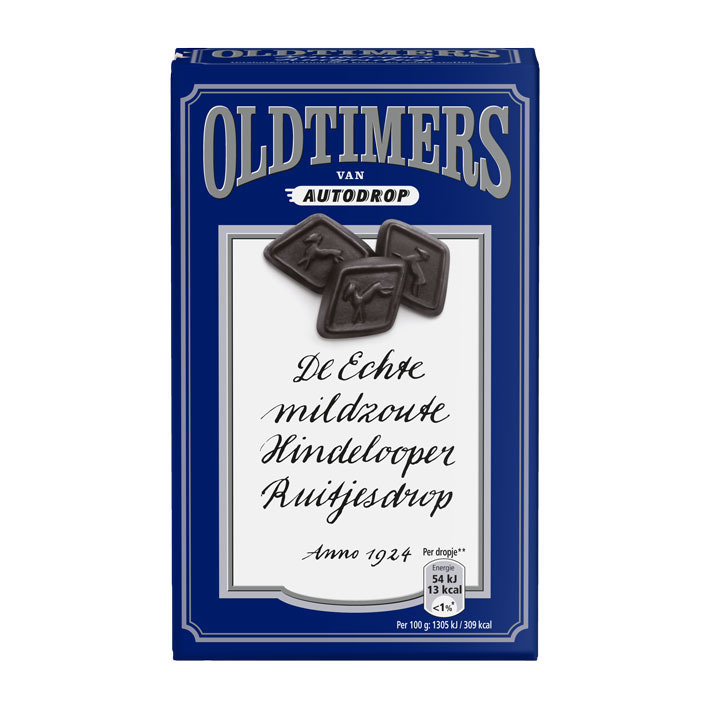 Oldtimers Mildzoute Hindelooper ruitjesdrop