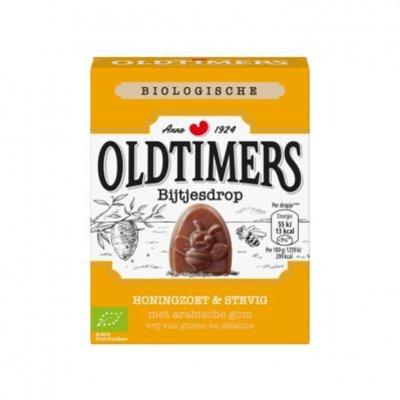 Oldtimers Honingzoete bijtjes drop biologisch
