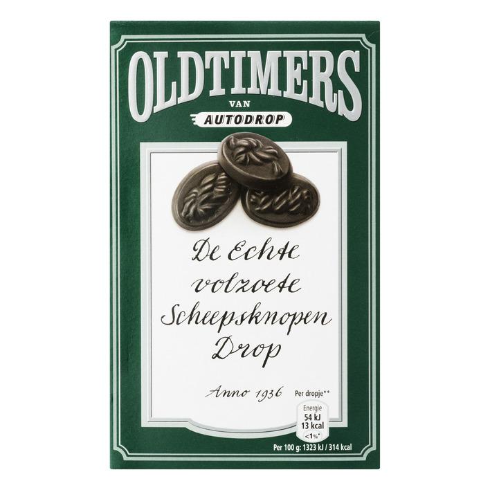 Oldtimers Volzoete scheepsknopen drop