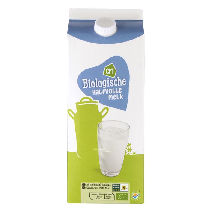 Huismerk Biologisch Halfvolle melk