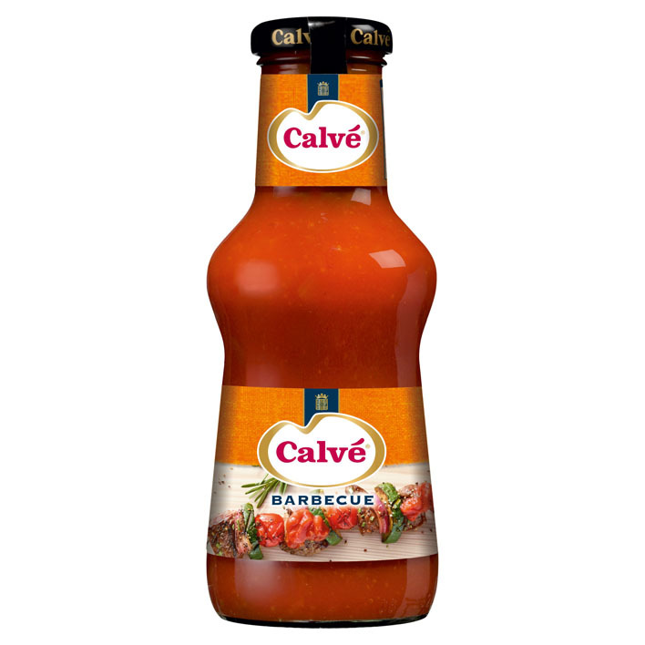 Calvé Saus fles bbq